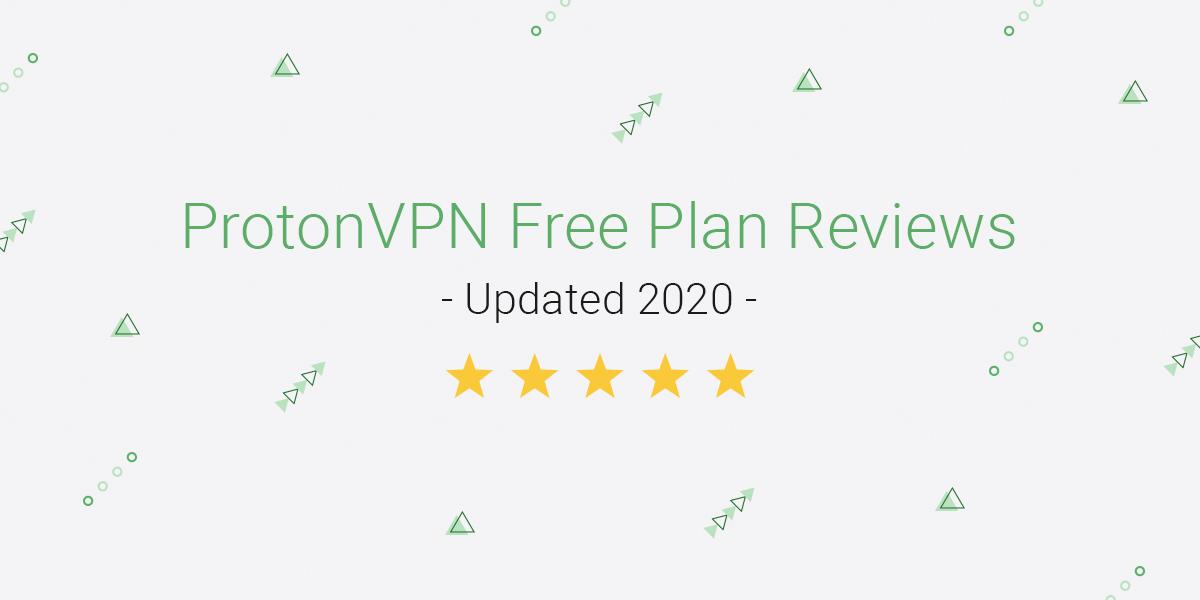protonvpn free plan reviews