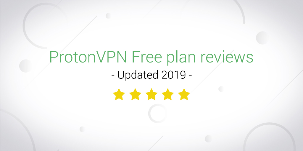 protonvpn free plan reviews