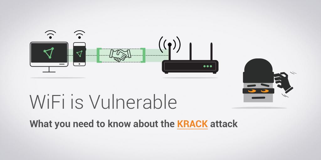 wifi vulnerability vpn krack