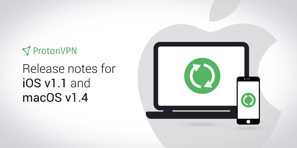ProtonVPN for iOS v1.1 and macOS v1.4 Release Notes
