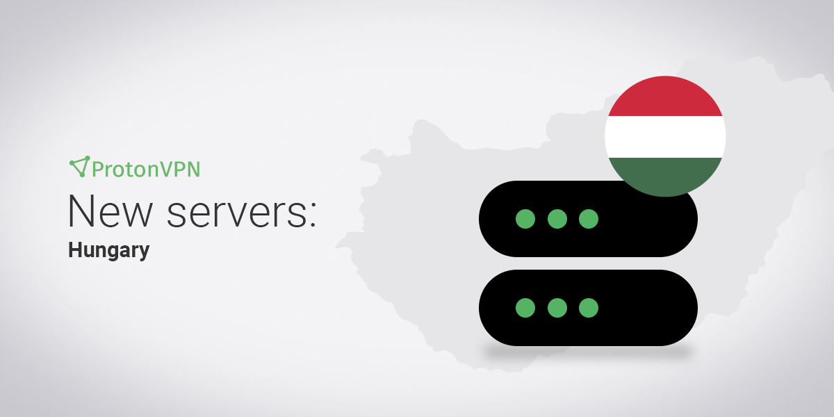 An illustration of servers in Hungary.