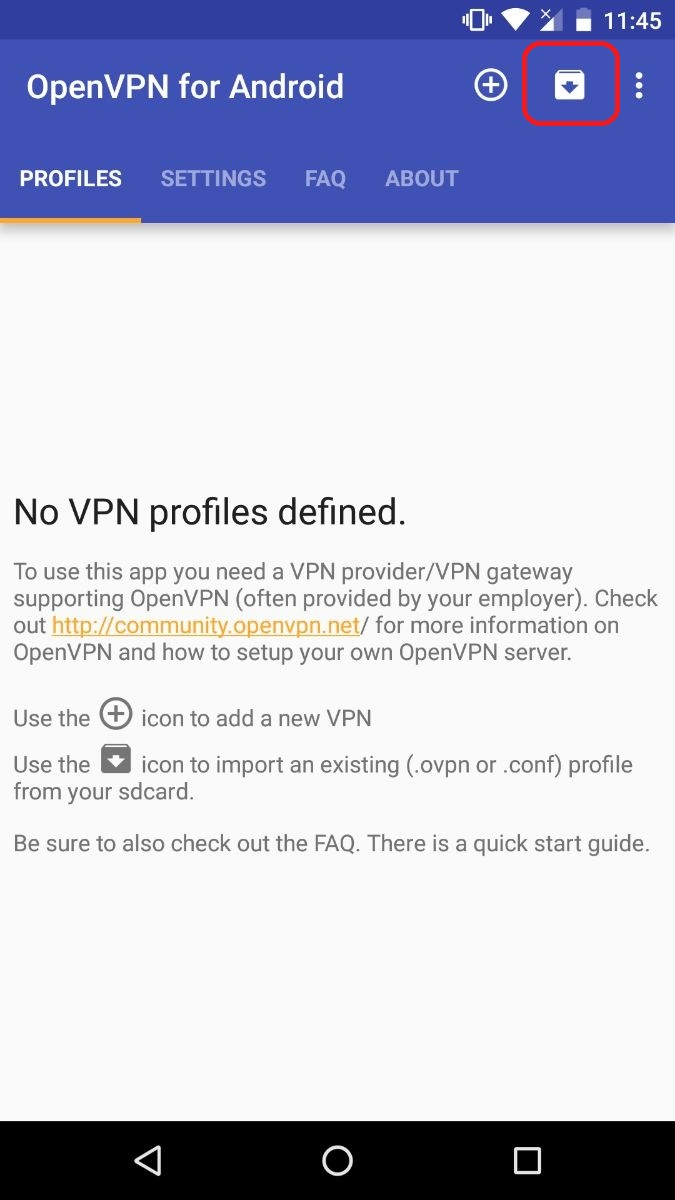 How to set up OpenVPN on Android - ProtonVPN Support
