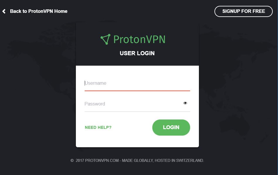 How to log in to ProtonVPN? - ProtonVPN Support