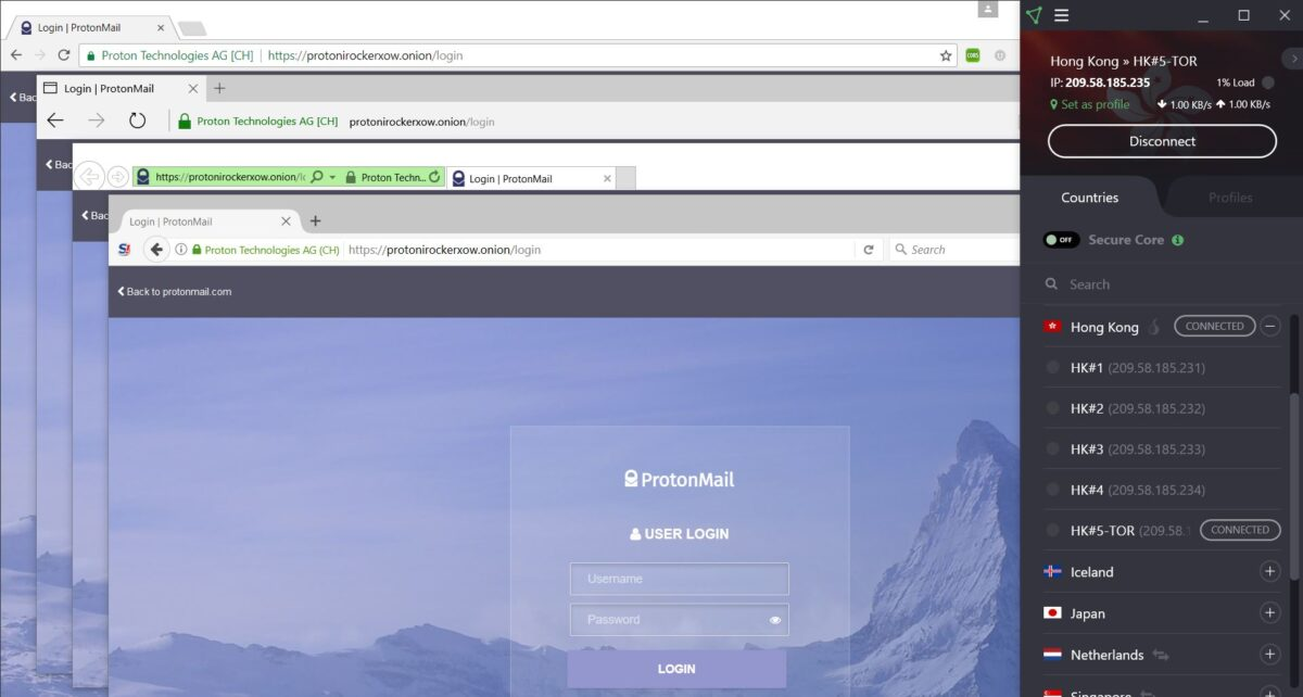 Accessing the Tor Network in ProtonVPN - ProtonVPN Support