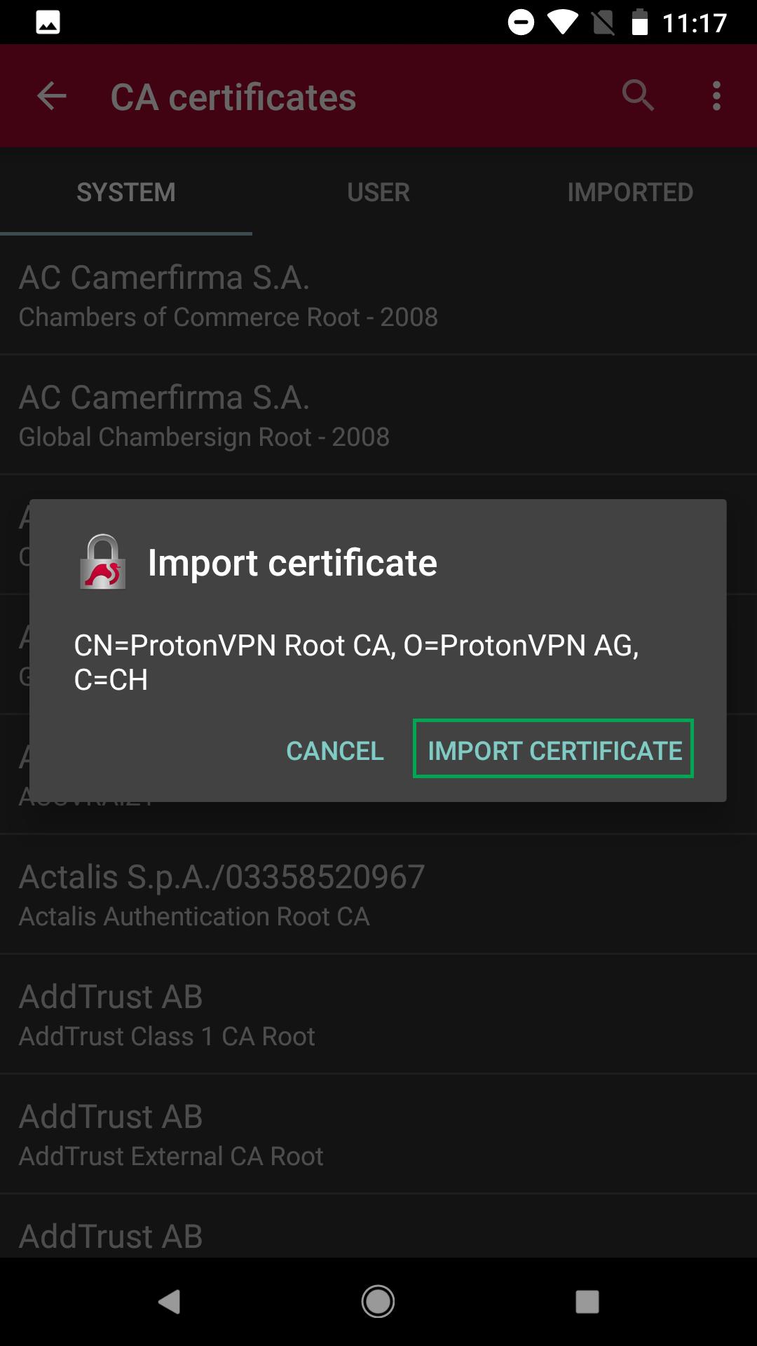 Protonvpn Manual Android Ikev2 Vpn Setup Protonvpn Support