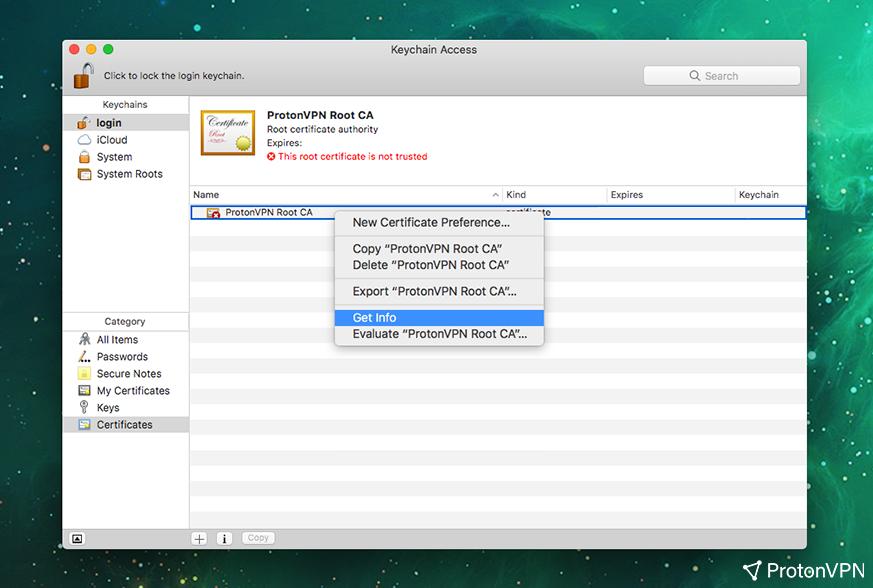 ProtonVPN macOS manual IKEv2 VPN setup - ProtonVPN Support