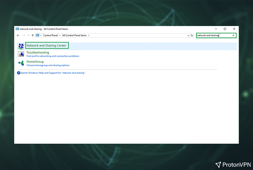 Cannot ping vpn server windows 7
