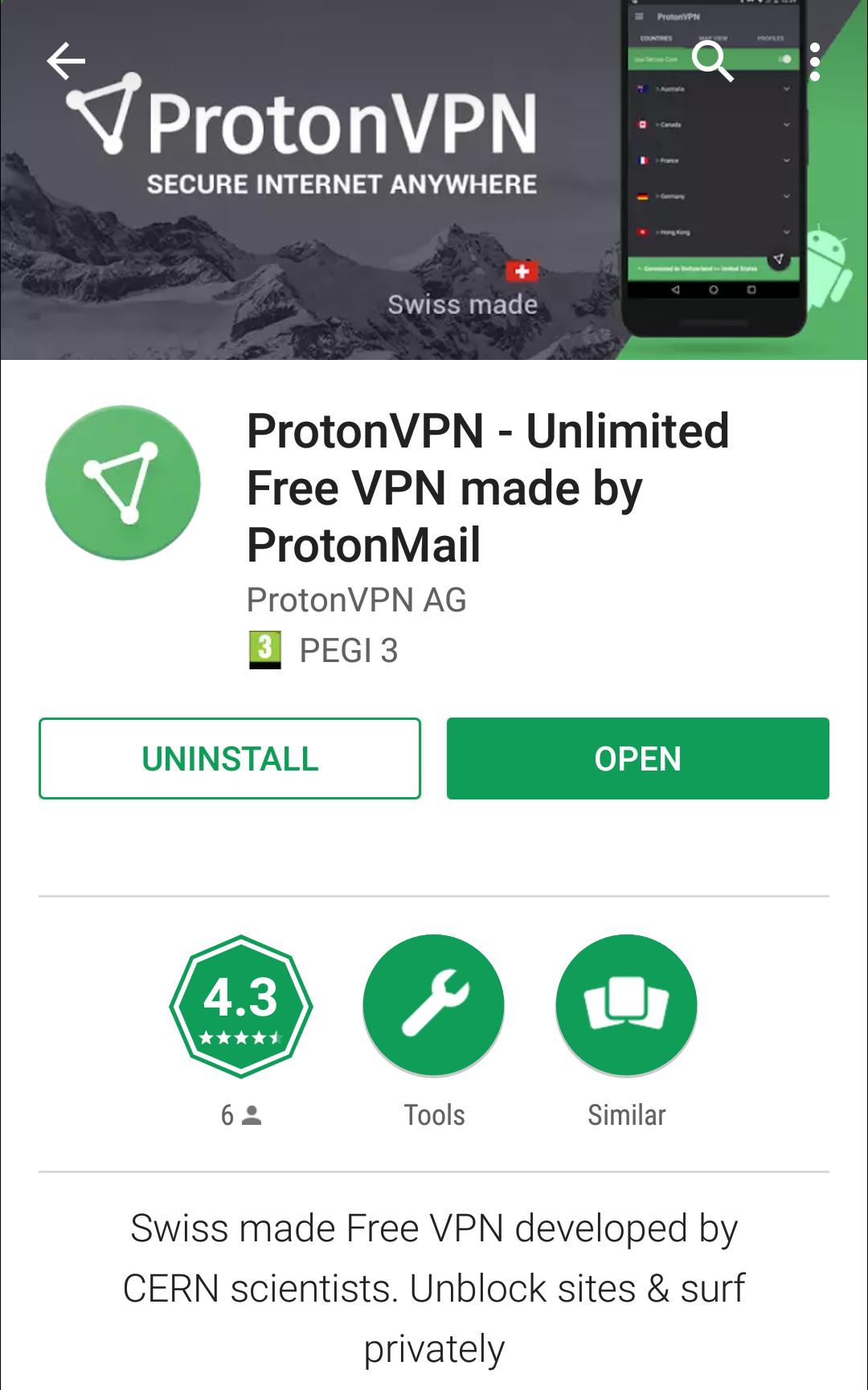 Participate in the ProtonVPN Android app beta - ProtonVPN Support