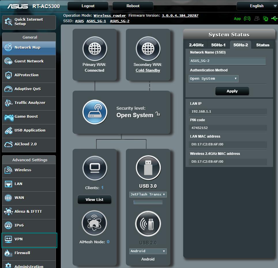 ProtonVPN AsusWRT router VPN setup - ProtonVPN Support