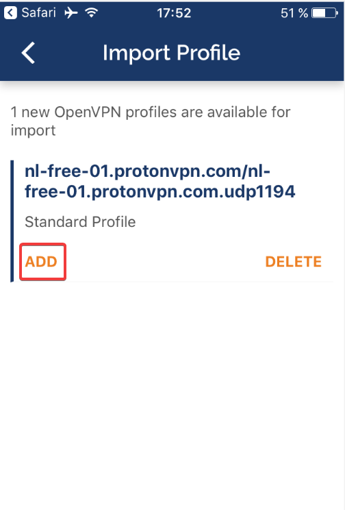 How to use ProtonVPN on iOS? - ProtonVPN Support