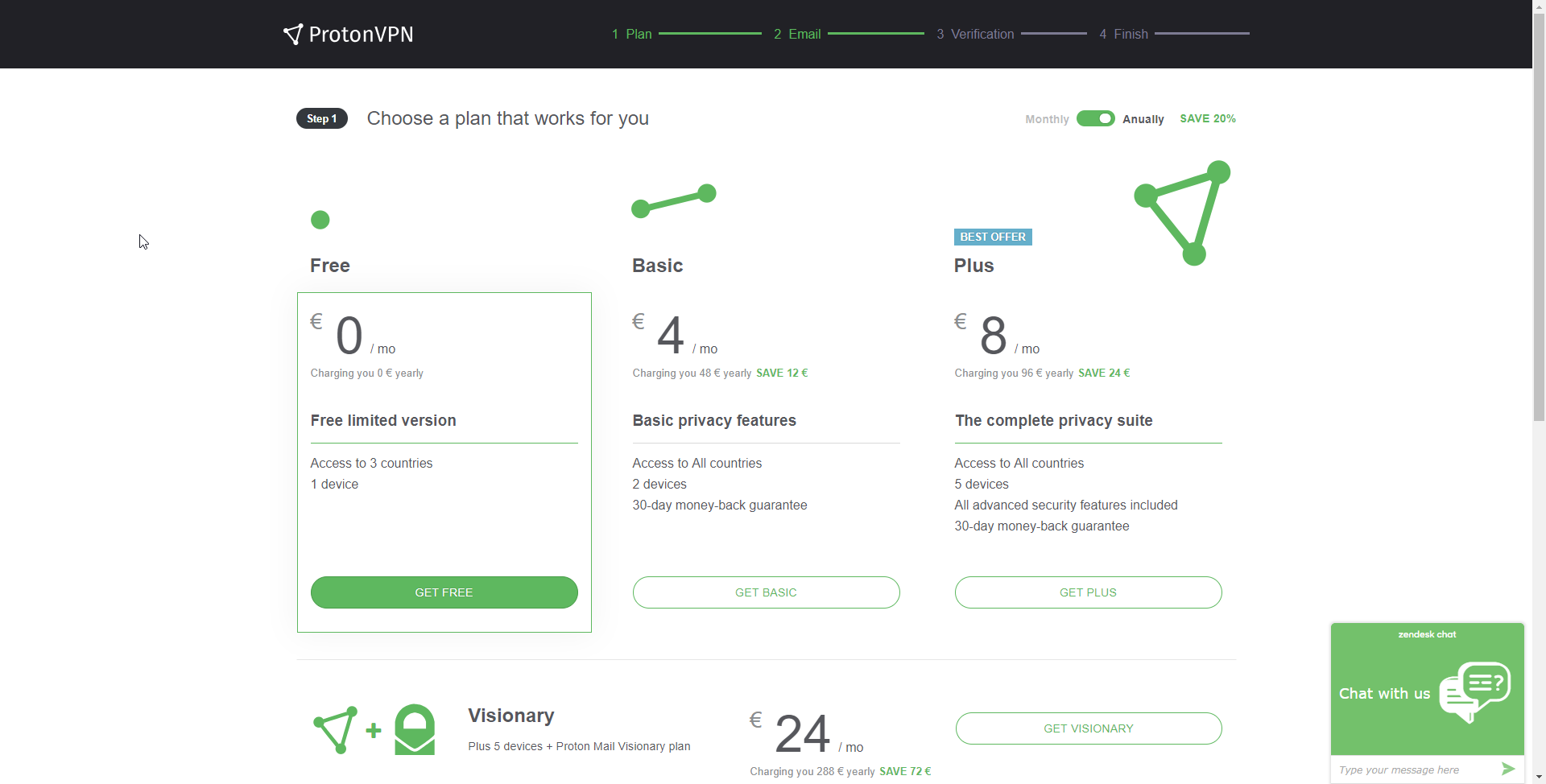 How to create a free VPN account - ProtonVPN Support