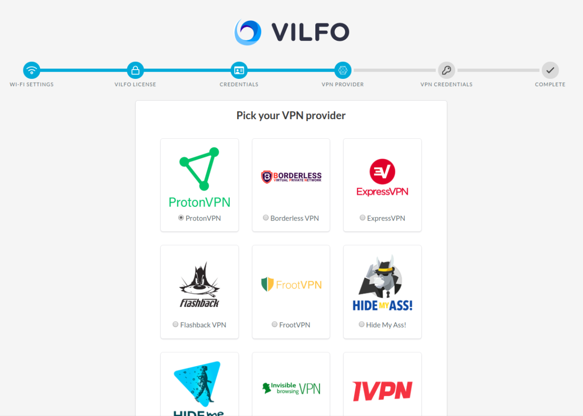How to set up Vilfo router with ProtonVPN - ProtonVPN Support