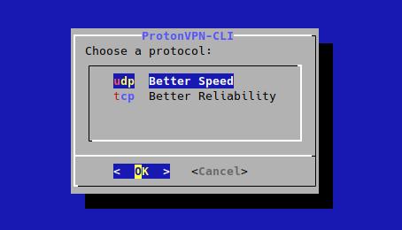 change protocol linux cli.