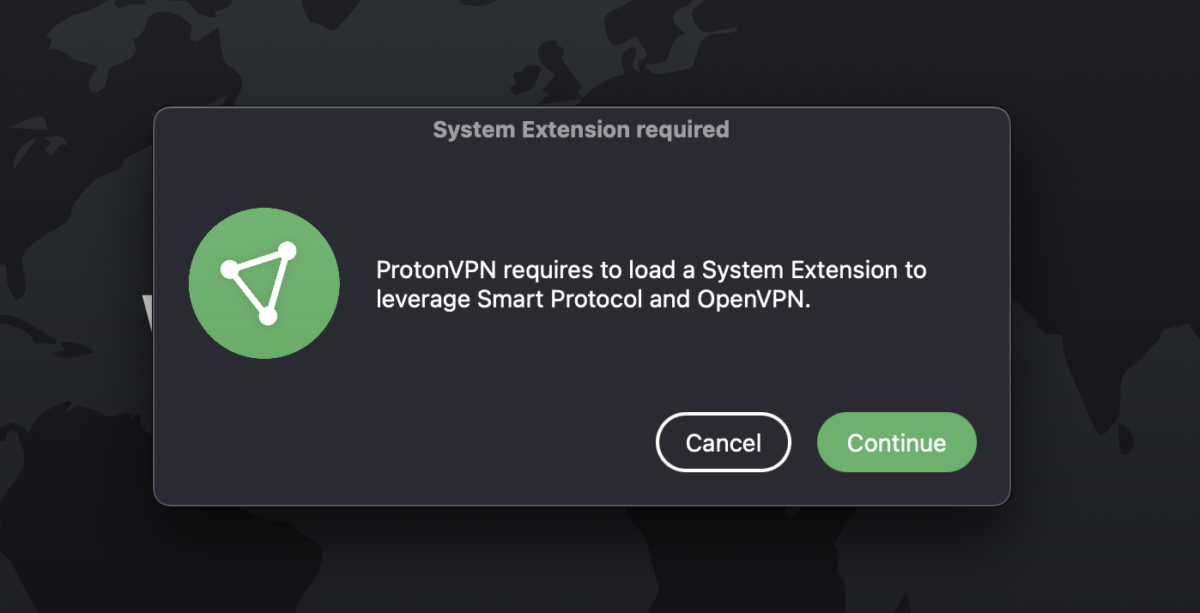 Enable OpenVPN and Smart Protocol in macOS 2