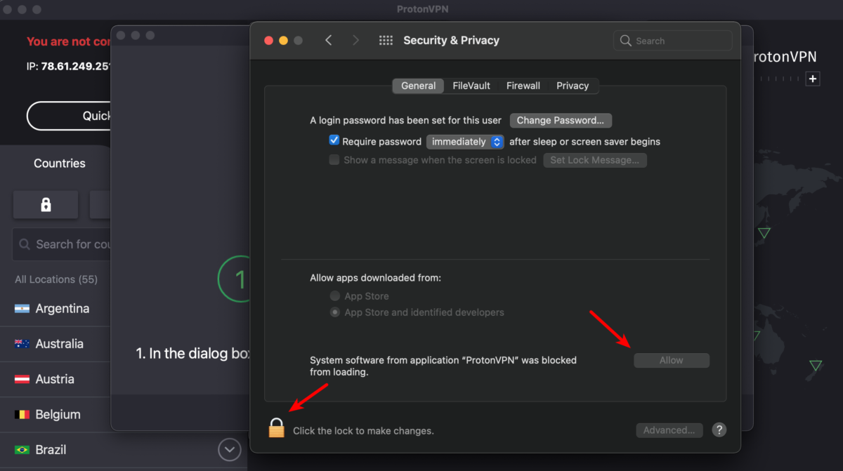 Enable OpenVPN and Smart Protocol in macOS 5