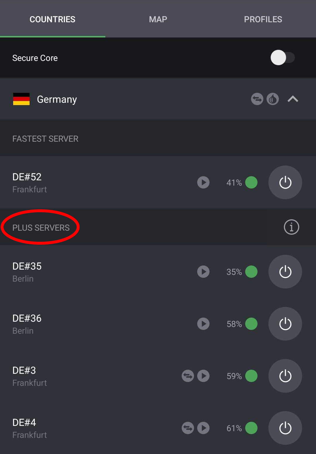 german plus servers protonvpn